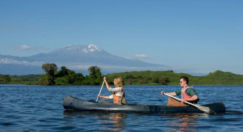 Canoeing at Lake Manyara I Arusha