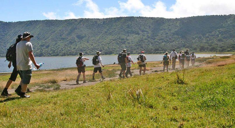 Ngorongoro Crater rim Walk